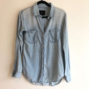 Rails Chambray Top